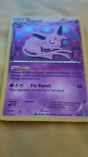 POKEMON PROMO CARD - BLACK AND WHITE - ESPEON BW92 (HOLOFOIL) - SYLVEON BOX
