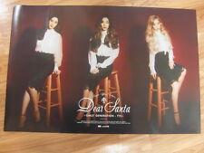 TAETISEO SNSD GIRLS' GENERATION  DEAR SANTA (TYPE B) [ORIGINAL POSTER] TTS K-POP