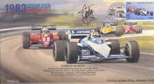 1983a BRABHAM-BMW BT52B MONZA F1 Cover signed GORDON MURRAY