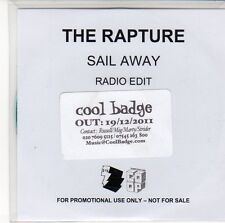 (EQ568) The Rapture, Sail Away - 2011 DJ CD