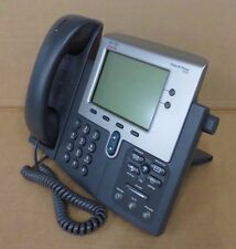 Cisco Unified VoIP IP Phone CP-7942G V08 7942G GRIGIO CON FILO Standard Handset