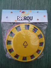 Lot de 4 frisbees plastique - Cadeau d'abonnement CLUB SPIROU (hors commerce)