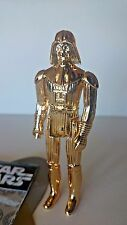 STAR WARS GOLD CHROME PLATED SCREAMING SKULL DARTH VADER FIRST 12 CUSTOM ROGUE