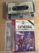 CATHEDRAL ‎– Forest of Equilibrium MC RARE POLISH PRESS 1992 RED strip version
