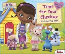 Doc Mcstuffins Time for Your Checkup! (2014, Board Book)