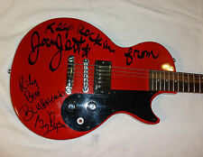 SIGNED JOAN JETT & THE BLACKHEARTS AUTOGRAPHED GIBSON GUITAR + JSA LOA # Y93024