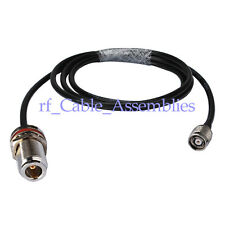 RP-TNC Plug to N Jack female RF pigtail Cable RG58 50cm for WIFI router