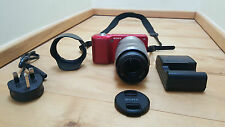 Sony Alpha NEX 3 - 14.2mp - Fotocamera digitale mirrorless-ROSSO LENTE 18-55mm -
