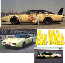 CD_794 #3 Don White  Dodge Charger  1:25 Scale Decals  ~NEW~