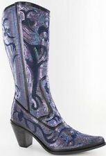 Helens Heart Bling Boots.  Beautiful Sequin And Embroidery Boots! Sizes 6,10