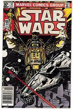 STAR WARS #52 (VF+) Darth Vader! Millennium Falcon! 1981 Walt Simonson Art