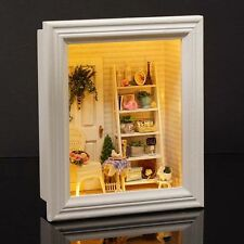 DIY Handcraft Miniature Project Kit My Long Vacation Country Houses Dolls House