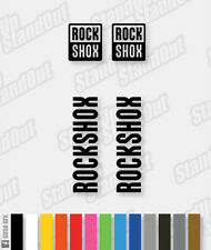 RockShox Logo decal set/pack-custom/fluorescent couleurs