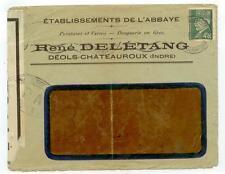 Sept 30 1944 Paris France post-liberation cover - censored - Rene Deletang