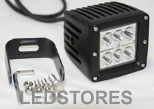"18W CREE LED Work Lights Lamp Ducati Honda Suzuki 3"" Square Cube POD 3x3 AWD"