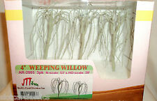 "JTT SCENERY 94123 PROFESSIONAL SERIES 4"" WEEPING WILLOW TREE ARMATURES 3/PK HO"