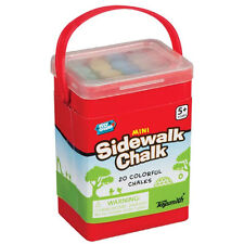Toysmith - MINI SIDEWALK CHALK (Random Color - 20 Chalks) - New Outdoor Toy