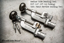 "Tube Beading Tool 3/8"", 1/2"", 5/8"" with Field Service Tube Holding Tool, USA"