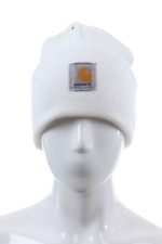A18WHT MEN ACRYLIC WATCH HAT CARHARTT WHITE