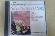ROMANTIC PIANO Waltzes Raindrops Flower Pieces In The Saloon CD Classical
