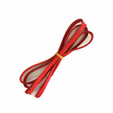 2meters 5mm Craft Suede Leather Cord Flat Rope Thread String Jewelry DIY Cord