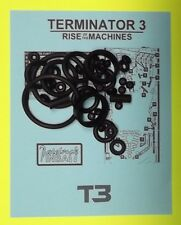 2003 Stern Terminator 3 pinball rubber ring kit
