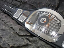NEW ! Billiards Championship Belt King Adult Size Metal Plates Pool Hand Crafted