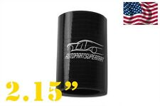 "4PLY Silicone Straight Coupler Turbo Hose Coupling ID = 55mm 2.15"" 2 5/32"" Black"