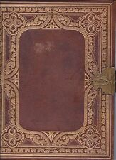 VINTAGE HARDING'S ROYAL EDITION THE HOLY BIBLE FROM 1868 WILLIAM W HARDING LQQK