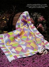"Baby Brights        Finished:  Size -46-1/2""x58-1/2""        Quilt   pattern only"