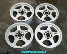 "JDM 15"" REGAMASTER EVO / SPOON SW388 4x100 Wheels Rims Rare Authentic EG EK DC2"