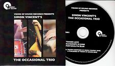 SIMON VINCENT'S THE OCCASIONAL TRIO S/T 2015 UK 3-track CD EP