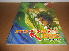 Manga Storm Riders 8 by Wing Shing Ma in English Kung Ku Fu Comic Graphic Novel