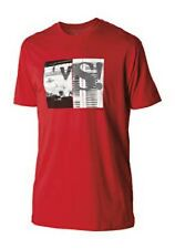 Nixon Versus Short Sleeve Tee T-Shirt (S) Red S1651200-02