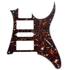 1pc Dark Brown Tortoise Shell HSH Guitar Pickguard Ibanez RG250