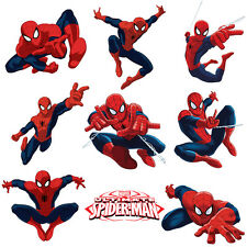 Spiderman Stickers for Kids Room Wall Decor | Spider-man Party Decoration Decals