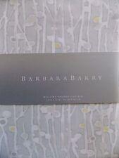 BARBARA BARRY~WILLOWY FABRIC SHOWER CURTAIN~NEW~
