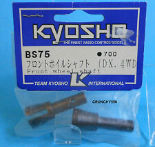 Kyosho BS75 Front Wheel Shaft DX 4WD Nitro Vintage RC part