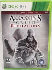 Assassin's Creed: Revelations Signature Edition Xbox 360 Complete Free Shipping