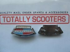 CASA LAMBRETTA S1 TYPE HORNCASTING BADGE - BEST QUALITY - 2 PIN TYPE