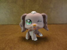 Littlest Pet Shop #1373 Cocker Spaniel Dog Puppy Green Eyes LPS