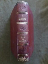 EO. JULES MICHELET. BIBLE DE L'HUMANITE. CHAMEROT.1864
