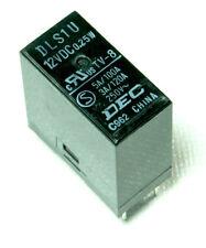 1pc DEC DLS1U Relay 12 volt  12VDC PC / TV Mount 3A TV-8 C962 .25w