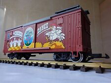 RARE LGB 44672 Chicken dance long freight car WITH SOUND Clap your hands G scale