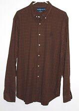 Men's Ralph Lauren Blue Label Plaid Classic Fit Shirt  Pony Size: XL Mutli Color