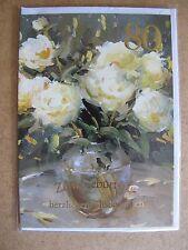 Grußkarte Zum Geburtstag herzlichen Glückwunsch  80 Jahre Aufklappbar  C0099
