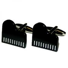 Black Grand Piano CUFFLINKS Pianist Musician Music Christmas Present GIFT Box