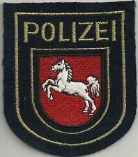 Polizei WSP NIEDERSACHSEN  Stoffabzeichen Patch JACKE 90er WASSERSCHUTZPOLIZEI !