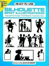 Ready-to-Use Silhouette Spot Illustrations (Dover Clip Art)-ExLibrary
