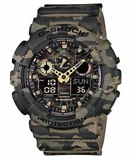 Casio G-Shock GA-100CM-5A Camouflage Series Analog Digital Watch